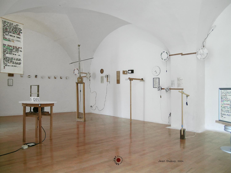 Jean Dupuy exhibition 2004