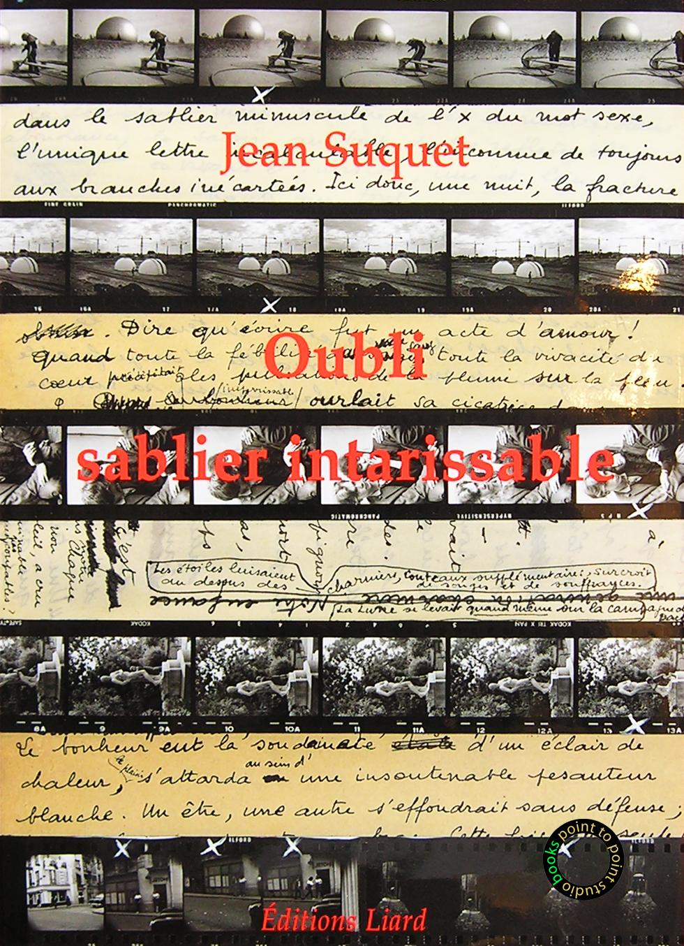 Livre-Oubli-sablier-Intarissable-Jean-Suquet-Sabrier