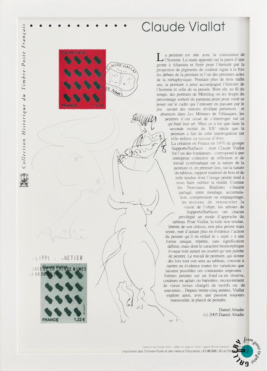 Archive Galerie Claude Viallat