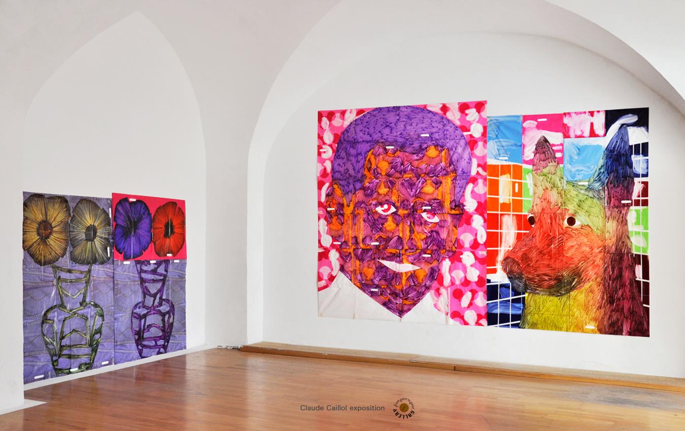 Caillol-Claude-Peinture-Chien-Sakozy-Fleurs-point-to-point-studio.jpg