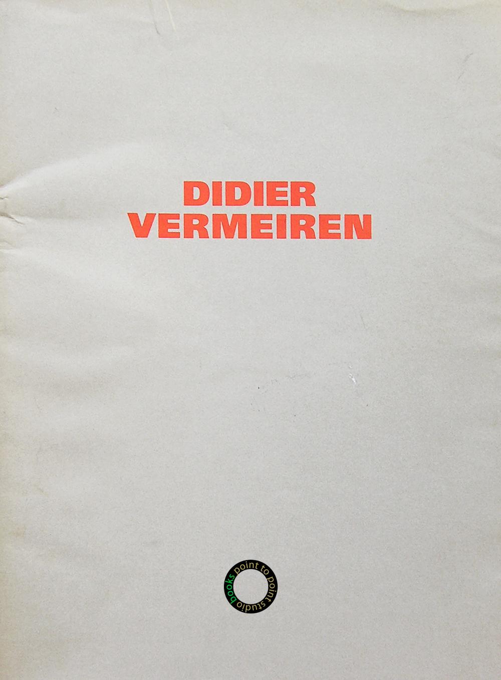 Vermeiren Didier catalogue