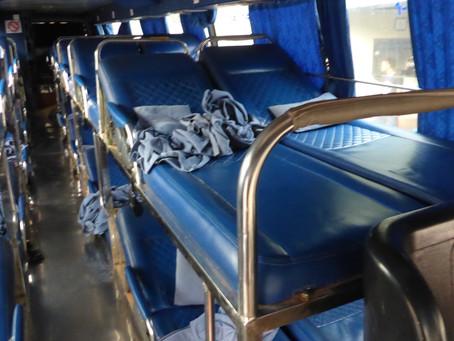 "A ""sleeper"" bus"