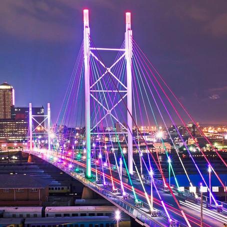the Nelson Mandela bridge