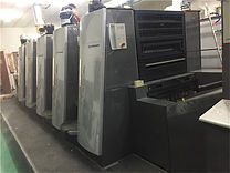This is Off-set printing machine of Michael Package.