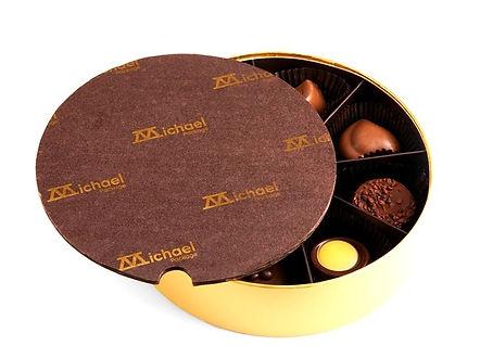 custom candy pads for chocolate box