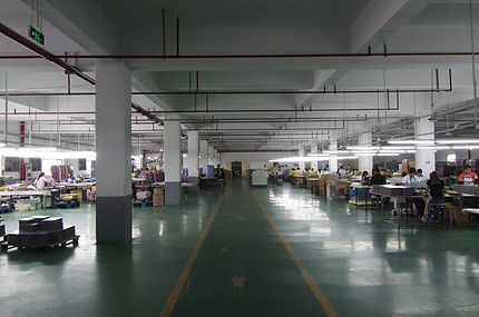 This is our clean plant,we are manufacturer of rigid box in China.