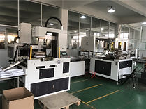 This is Automatic rigid box assemble machine of Michael Package.