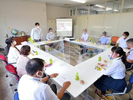 職場見学会が開催されました。