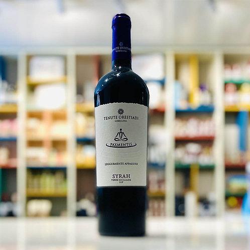 Paximentis | Vino Rosso Syrah IGP Vendemmia Tardiva