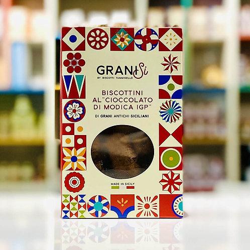 Biscotti artigianali cioccolato di Modica GraniSi - 210 gr