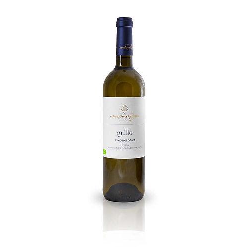 Grillo | Vino Bianco BIO | Abbazia Sant'Anastasia