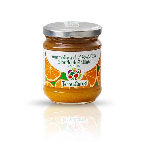 Marmellata di arancia biondo di Scillato