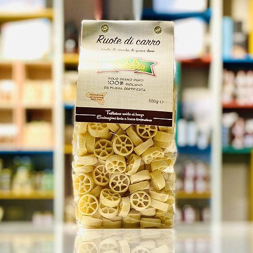 Ruote di carro | Pasta artigianale di grano 100% siciliano - 500 gr