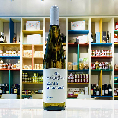 Zibibbo Secco DOC | Vino Bianco BIO | Abbazia Sant'Anastasia