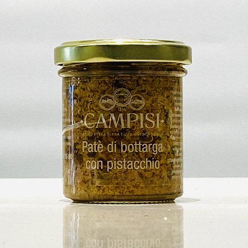 Patè di bottarga con pistacchio - 90 gr