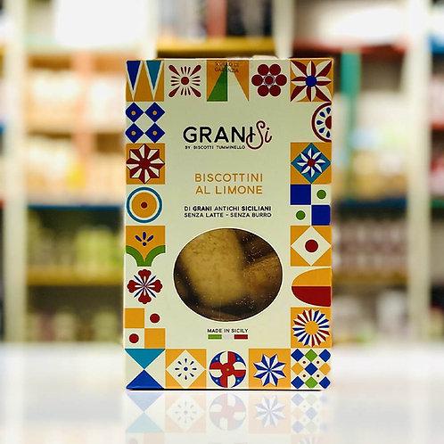Biscotti artigianali scorza di limone GraniSi - 210 gr