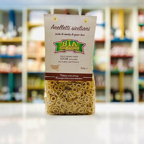 Anelletti Siciliani | Pasta artigianale di grano 100% siciliano - 500 gr