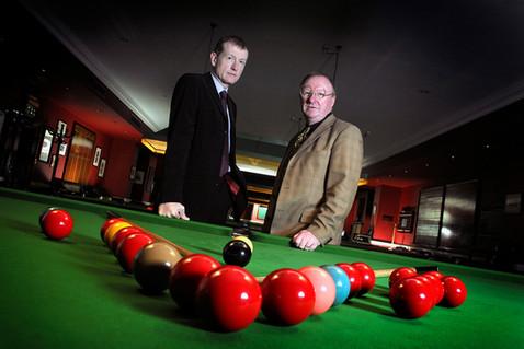 Steve Davis & Denis Taylor