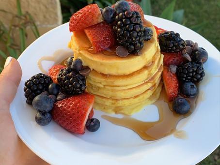 RECIPE: Protein Custard Pancakes