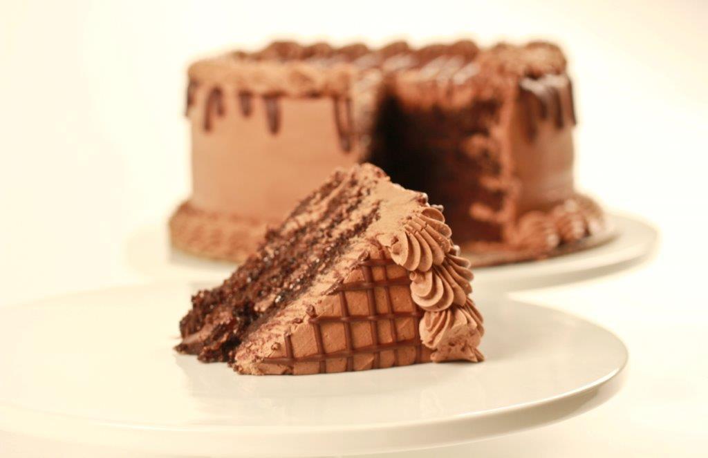 Fudge Drip Cake
