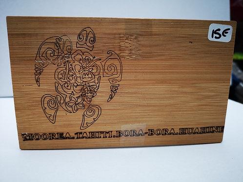 Boite rectangulaire bambou