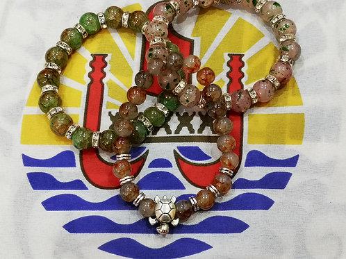 Bracelet en Pierres semi Précieuse