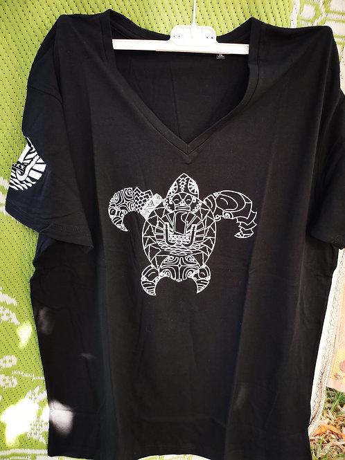 Tee-Shirt Asso TORTUE Col V