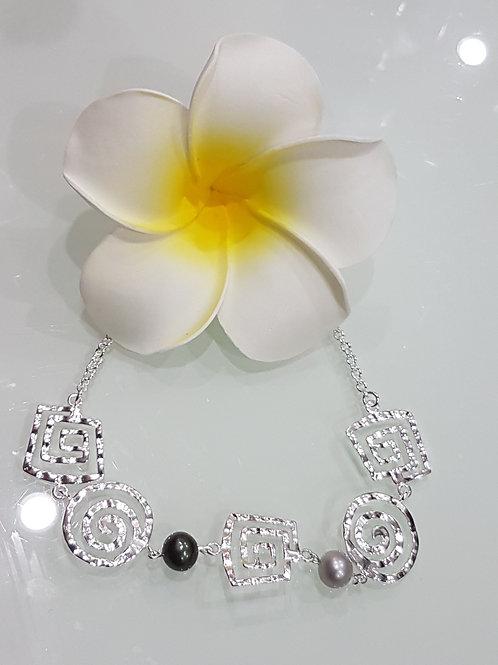 Collier avec perle de TAHITI