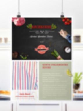 Kochkurse Plakat