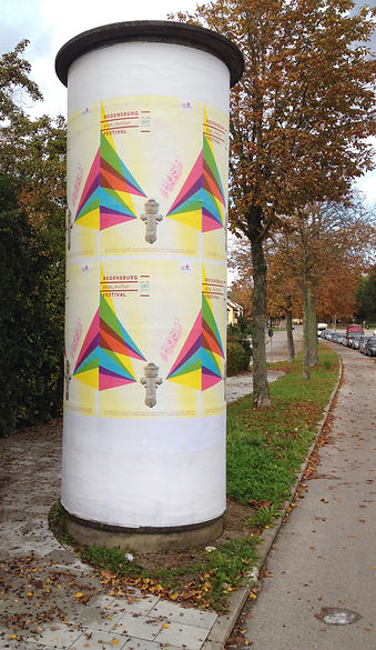 Popkultur Festival Litfaß