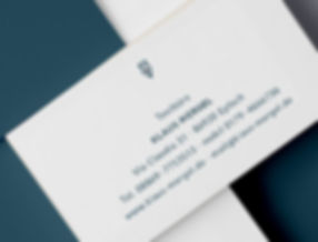 Visitenkarte Textbüro