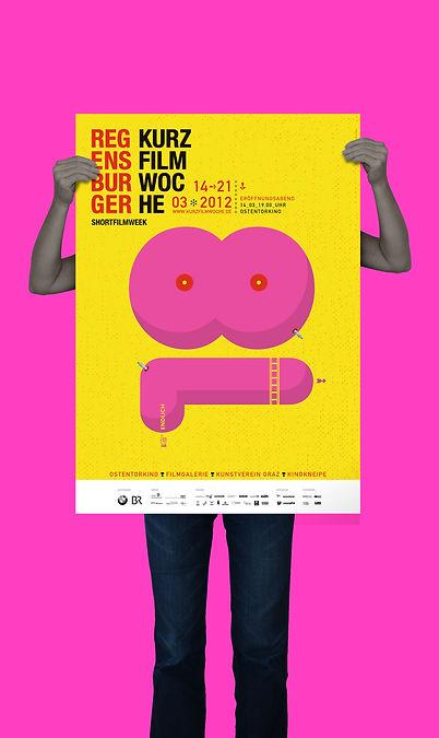 Kurzfilmwoche 2012 Plakat