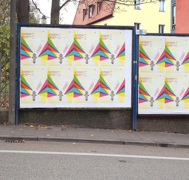 Popkultur Festival1 Plakatwand