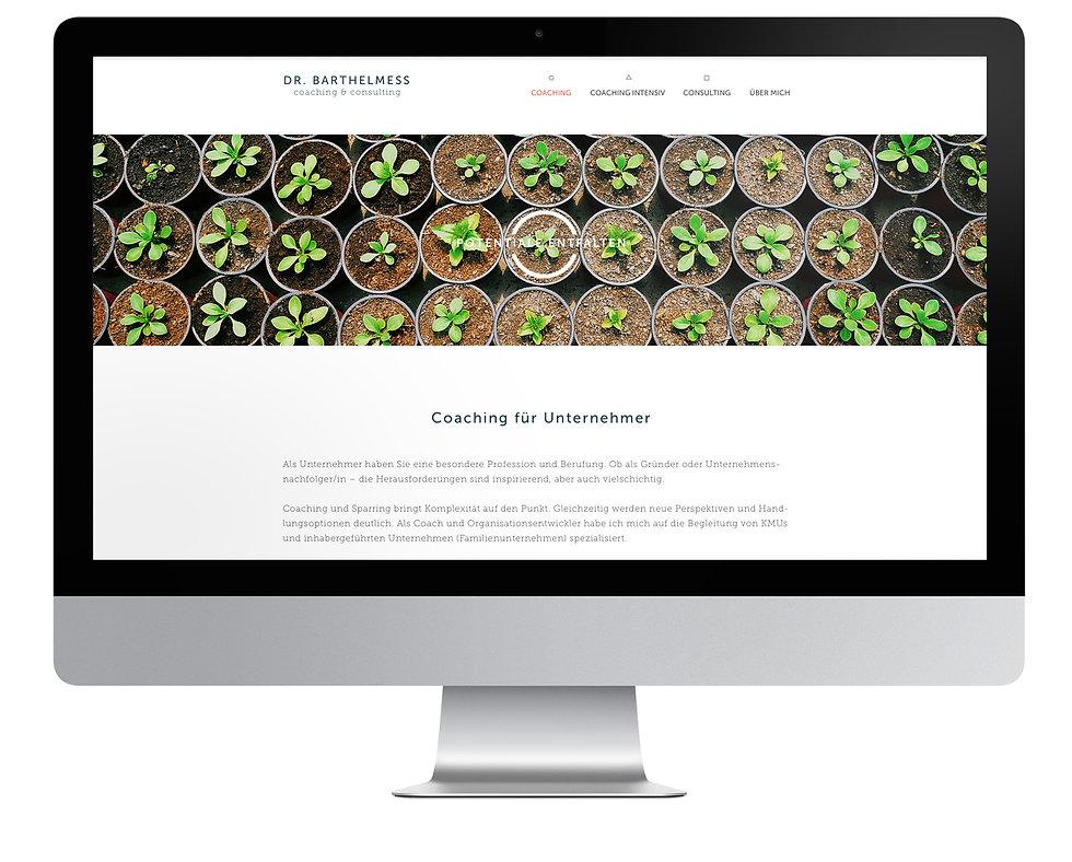 Dr. Barthelmess Webdesign