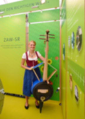 Messestand ZAW-SR