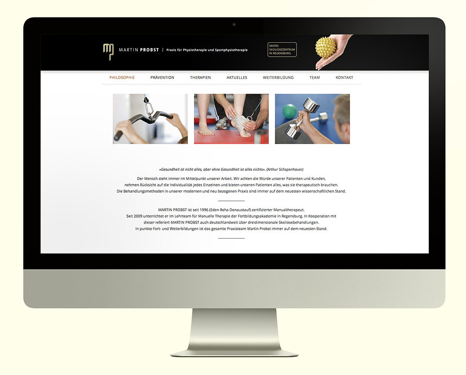Physiotherapeut Homepage