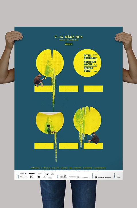 Kurzfilmwoche 2016 Plakat