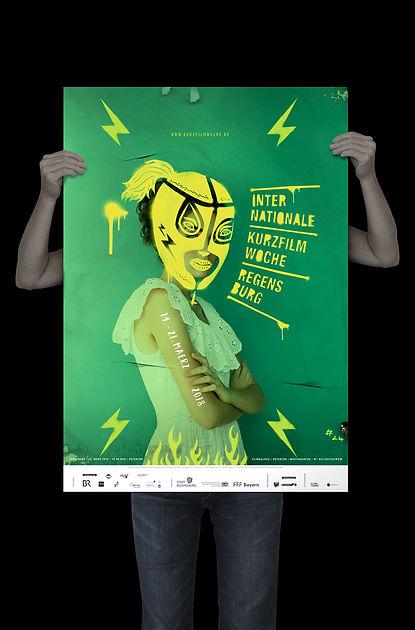 Plakat Kurzfilmwoche 2018
