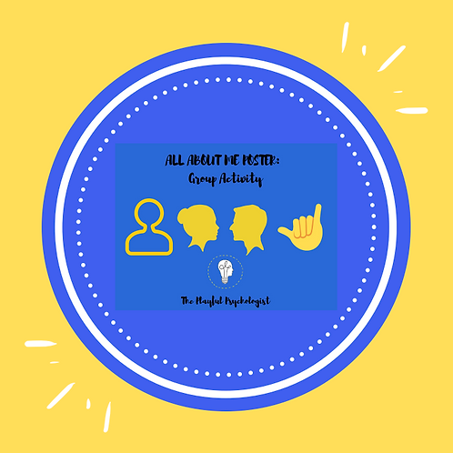 All About Me: A Self-Esteem Activity For The Whole Class/Group!