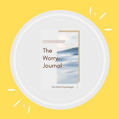 The Worry Workbook & Journal