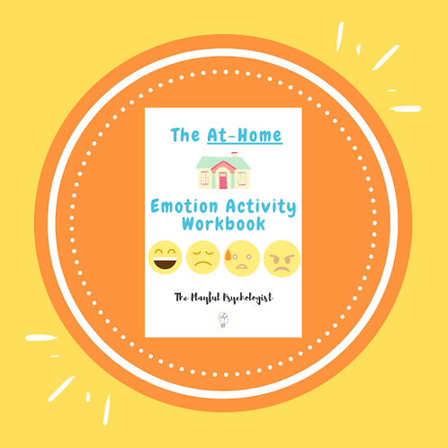 The At-Home Emotion Activity Workbook