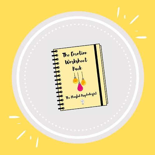 The Emotion Worksheet Pack