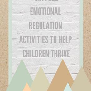 Free Emotional Regulation Workbook