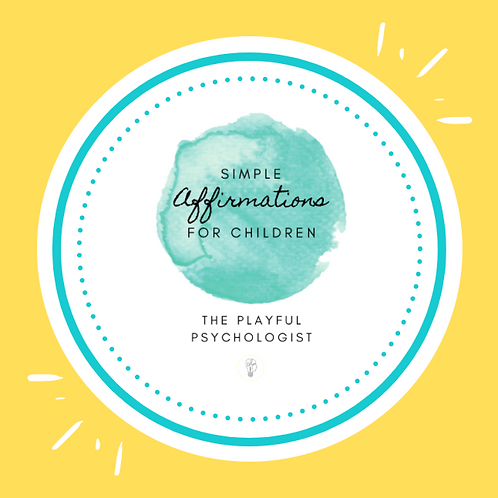 Child Affirmation Pack