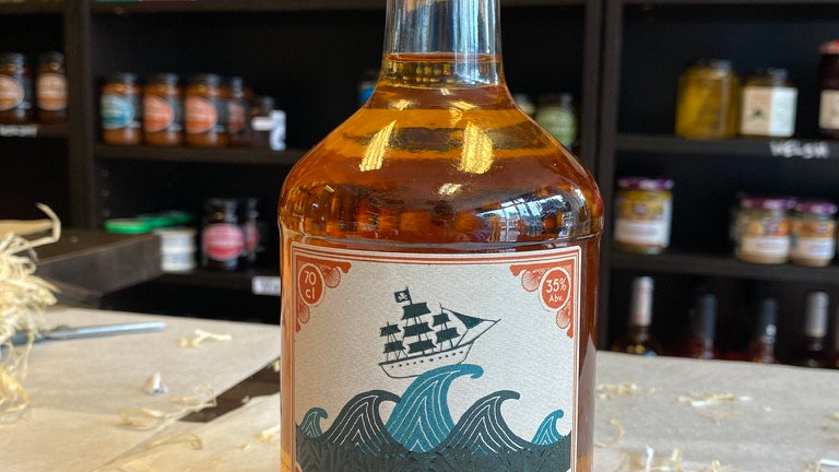 Barti Ddu Welsh Spiced Rum