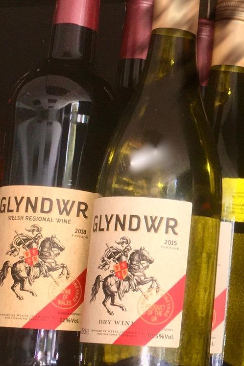 Welsh Wine Package - 1 bottle of red & 1 bottle of white
