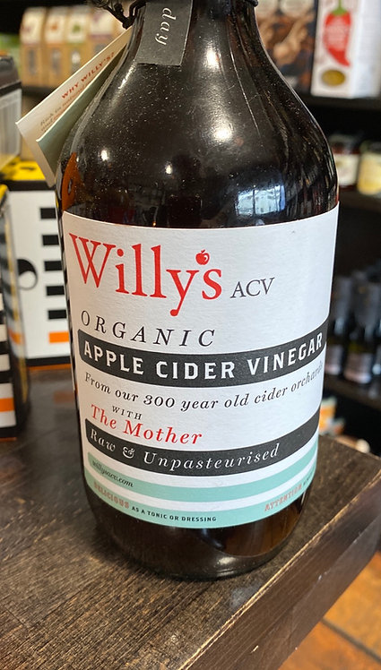 Willys Organic Apple Cider Vinegar with the Mother