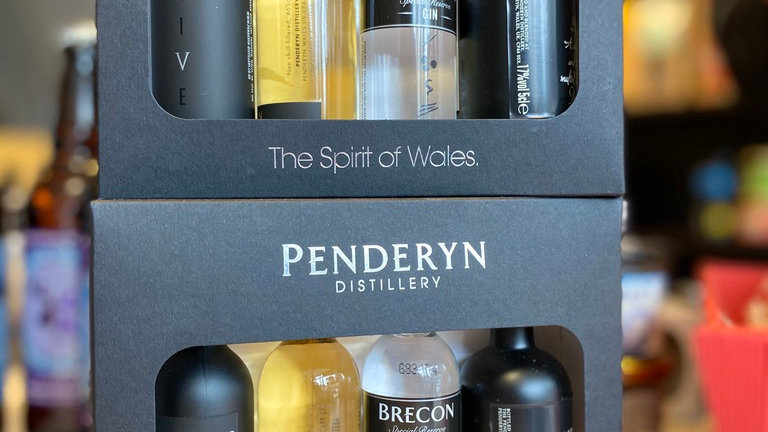 Penderyn Taste of Wales Gift Set