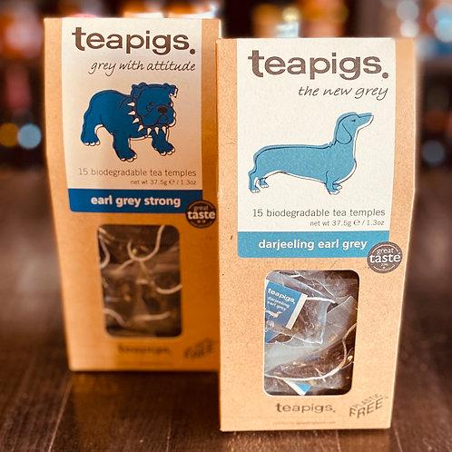 Teapigs Earl grey teas