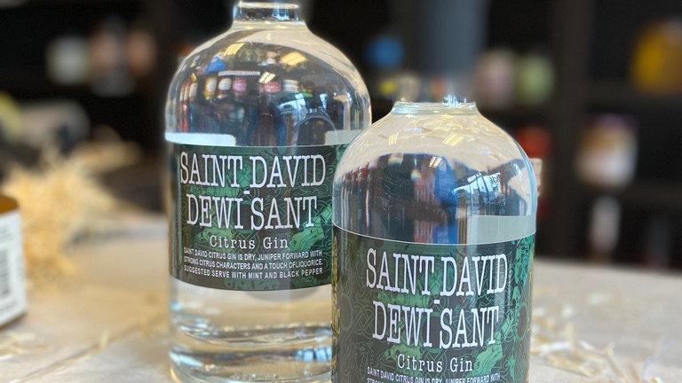 Dewi Sant Welsh Gin